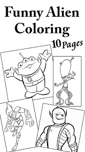 Small Picture Top 10 Free Printable Funny Alien Coloring Pages Online Free
