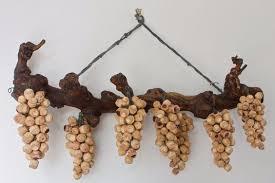 пробки1 панно Ветка с кистями винограда !!! (564x376, 131Kb ...