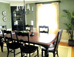 Of Painted Dining Room Tables Dining Room Green Walls Provide With Brown Leather Dining Room