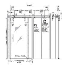 patio door dimensions standard