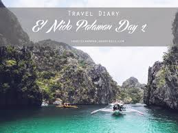 travel diary el nido palawan day copy everyday essay el nido palawan day 1