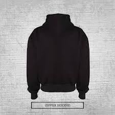 <b>Customized Name</b> Zipper Hoodie - Customize.pk