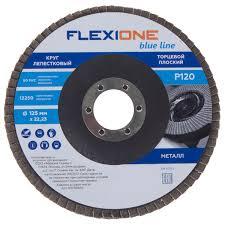<b>Круг лепестковый</b> Flexione Р120, 125х22 мм в Москве – купить по ...