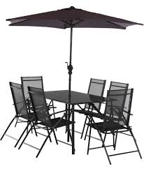patio table and 6 chairs: buy milan  seater patio set at argoscouk visit argoscouk to shop online for garden table and chair sets