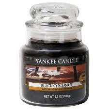<b>Ароматическая свеча</b> Yankee Candle <b>Black Coconut</b> ,105 г. цена ...