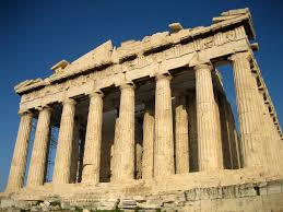 ancient greek contributions to western civilization basic list parthenon from west