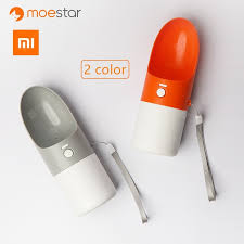 <b>XIAOMI</b> MOESTAR ROCKET 270ML Portable Dog Water Bottle ...