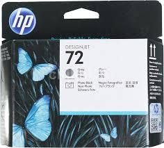 Купить <b>Печатающая головка HP</b> 72 C9380A фото черный/серый ...