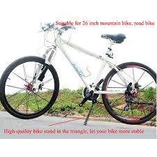Aluminum Alloy Mountain <b>Bike Stand Bicycle Middle Parking</b> Racks ...