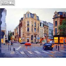 Full Square drill <b>5D DIY</b> Diamond painting London street scenery ...