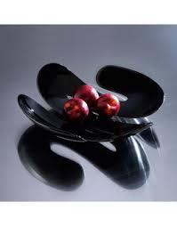 <b>Блюдо для фруктов</b> big apple бело-<b>чёрное</b>