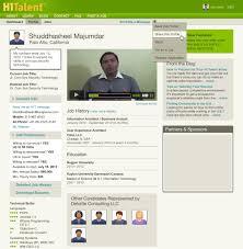 penina finger page 2 portfolio product development h1talent candidate profile page design by penina s finger
