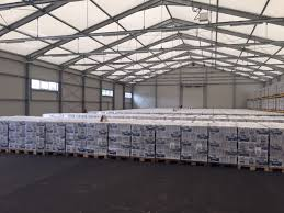 facility examples rent d o o sirk warehouse interior of the storage hall for milk and milk products