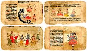 Resultado de imagen de Anteriores a los primeros Upanishads tenemos en la India la creación de los Vedas,