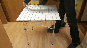 Продам <b>стол</b> складной алюминиевый для пикника - YouTube