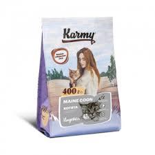 Карми <b>Корм сухой Kitten</b> Maine Coon для котят, беременных и ...