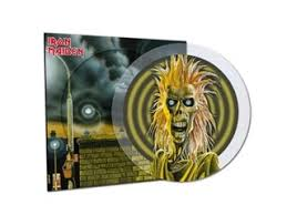 <b>Iron Maiden</b> - <b>40th</b> Anniversary Limited Edition Crystal Clear Picture ...