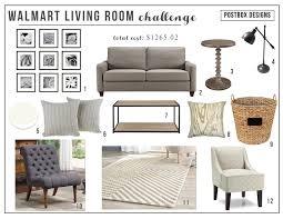 walmart living room mood board postbox designs budget home office design