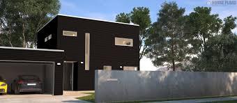 Zen Cube Bedroom   Garage   HOUSE PLANS NEW ZEALAND LTD
