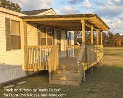 House Plans With Porches On Front And Back Porch Designs Make    porch front plans single story house