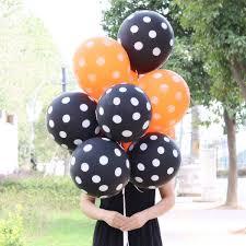 <b>Halloween</b> Latex Bubble <b>Balloon Combo</b> 12 Inch Dots Thickness ...