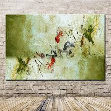 Pop Art <b>Hand Painted Abstract Oil</b> Painting On Canvas Modern Wall ...