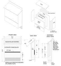 PLANS BAT HOUSE   FREE FLOOR PLANSInformation on Bat House Plans   Home