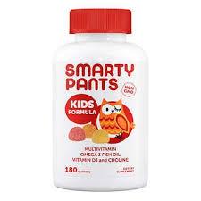 SmartyPants Kids Formula <b>Multivitamin</b>, 180 <b>Gummies</b>