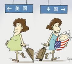 Image result for 中國孕婦來美產子