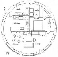 meter Roundhouse   Natural Building BlogFloor Plan