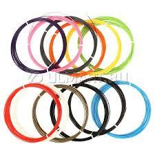 <b>Набор пластика</b> 3DMPlast <b>ABS</b> для 3D ручек, <b>12</b> цветов по 10 ...
