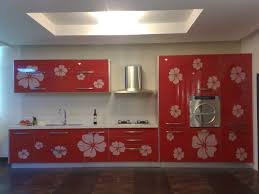 Red Tile Paint For Kitchens Paint Kitchen Cupboard White E2 80 93 Simple And Beautiful Ideas