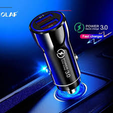 <b>OLAF</b> Quick Charger 3.0 USB Car Charger for Xiaomi mi 9 Huawei ...