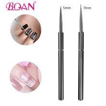 BQAN щетка для ногтей ультра <b>тонкая</b> 5/7 мм <b>кисть для подводки</b> ...