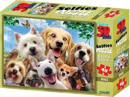 "<b>3D Пазл</b> Prime3D ""Собаки селфи-2"", 10539 — купить в интернет ..."