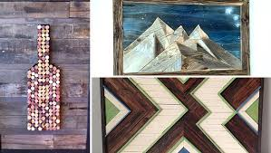 15 Truly <b>Creative</b> Handmade <b>Wood Wall</b> Art Ideas That You Must Try