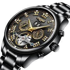 KINYUED <b>KINYUED Automatic Mechanical Watches</b> Roman ...