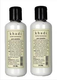 Khadi <b>Natural Herbal</b> Pure Jasmine Moisturiser 210 Ml (Pack Of <b>2</b> ...