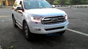 new car launches in chennaiNew Ford Endeavour DRL taillight spied in Chennai 6 Pics
