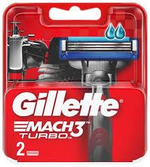 Купить Сменные <b>кассеты Gillette Mach3 Turbo</b>, 2 шт. по низкой ...
