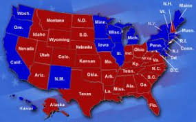 Image result for red state map
