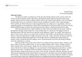 mexican essays  www gxart orgmexican culture a level design and technology marked by document image preview