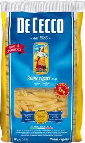 Купить <b>макароны DE CECCO</b> Пенне ригате 41, 1кг в торговых ...