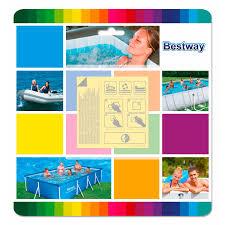 <b>Набор</b> для ремонта <b>бассейна</b> Bestway Waterproof Repair Patch ...