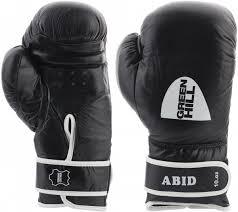 <b>Перчатки боксерские Green</b> Hill Abid черный цвет — купить за ...