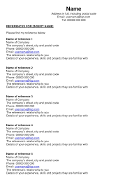 resume references template resume references template makemoney alex tk