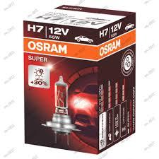 <b>лампа OSRAM H7 12v</b> 55w SUPER +30% 64210SUP, цена ...