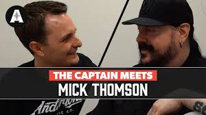 The Captain Meets <b>Mick Thomson</b> (<b>Slipknot</b>) - Backstage at The ...