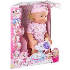 <b>Пупс Warm Baby</b> с аксессуарами, 9 функций – покупайте в ...