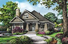 Narrow House Plans   Home Plans for Narrow Lots   Don GardnerHouse Plan The Park Ridge